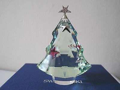 NIB-SWAROVSKI CHRISTMAS TREE CHRYSOLITE Accessory FIGURINE 5003401 $120