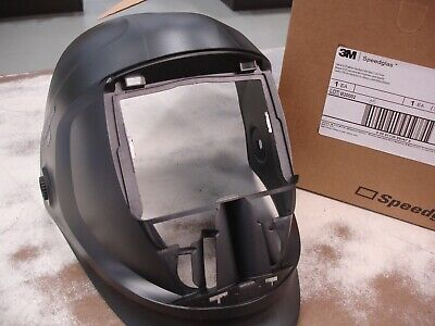 3m Speedglas Helmet 9100 Welding Safety 06-0300-52 Without Headband Silver Panel
