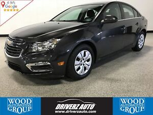 2015 Chevrolet Cruze 1LT REARVIEW CAMERA, ONE OWNER, BLUETOOTH