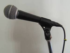 Shure SM 58 Microphone with Cable and Tama MS 205 Boom Stand Riverstone Blacktown Area Preview