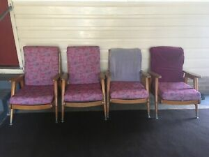 Vintage/retro lounge chairs
