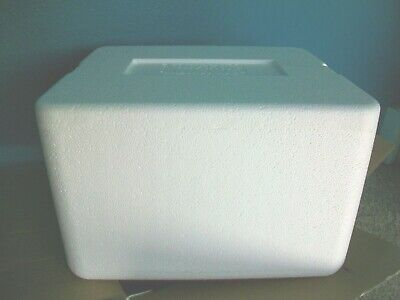 Styrofoam Cooler Shipping Container Cool Box Duratherm Insulated 15x13x9 Large