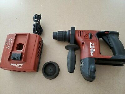Hilti Te 6-a Cordless Rotary Hammer Drill And Charger
