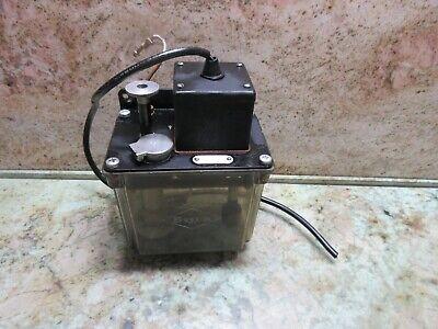 Bijur Lubricator Lubrication Tank Pump System Oil Lube D2990 Ck Dah Lih Mcv-1020