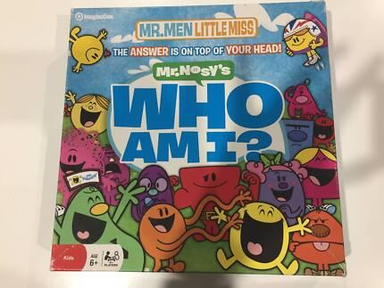 Mr. Men / Little Miss Who am I? Board Game