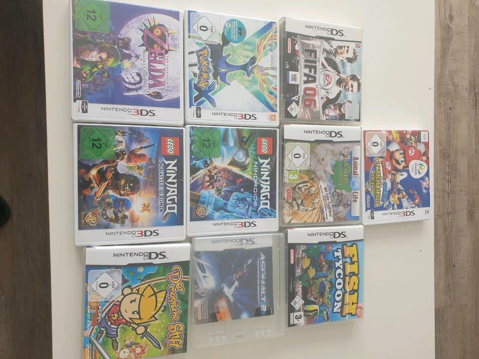 Nintendo 3DS, Ninjago usw. VB in Aachen - Aachen-Richterich