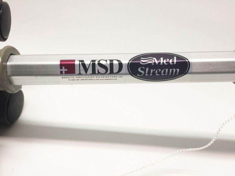 IV Pole MSD MedStream Disposable Portable Adjustable Lightweight FAST SHIP