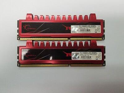 *LOT OF 2* 4GB DDR3 PC3-10600U G.SKILL F3-10666CL9D-8GBRL