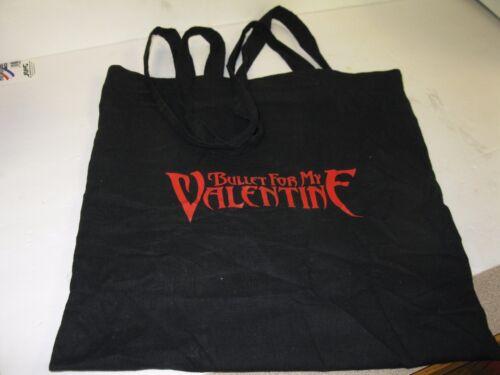 BULLET FOR MY VALENTINE BLACK  BAG,  USED