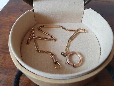 Collana catenina Catena per orologio a cipolla in oro 18 kt 750 gold Gr16,46
