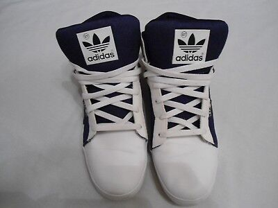 size 40 3d390 99b7a ADIDAS ATTITUDE ST MENS HIGH TOP TRAINERS SHOES SIZE 10.5 UK V.G.C