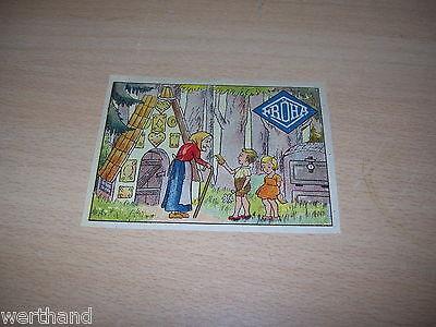 Original altes  Fröha  Bild Hexe Hänsel und  Gretel