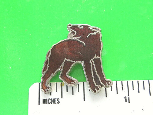 COYOTE - hat pin , tie tac , lapel pin , hatpin GIFT BOXED 01512*