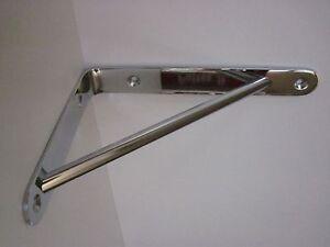 Reggimensola reggimensole acciaio cromato 19x14 mital rm20 for Supporti per mensole