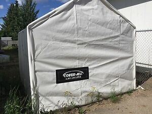 Coverall shelter 10x10  shed