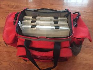 BPS tackle bag with trays