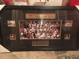 2002 Team Canada Women's Gold Medal Wall Art!