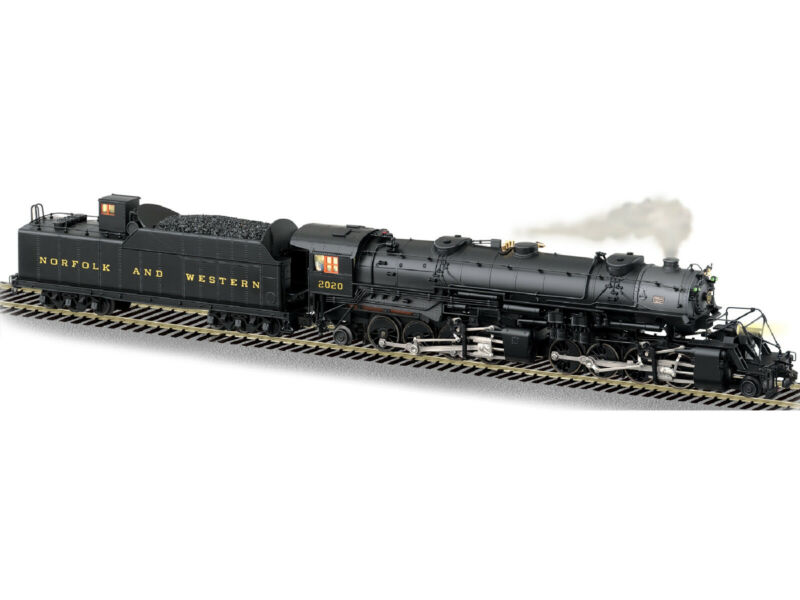 American Flyer S Gauge Norfolk and Western Y-3 2-8-8-2 No. 2020