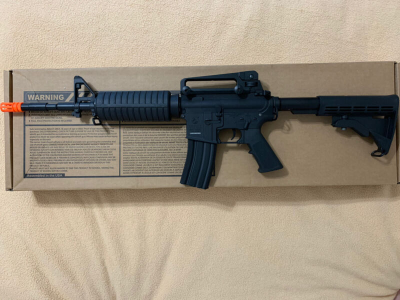 Colt Licensed Elite Line M4 AEG Airsoft Rifle by Cybergun