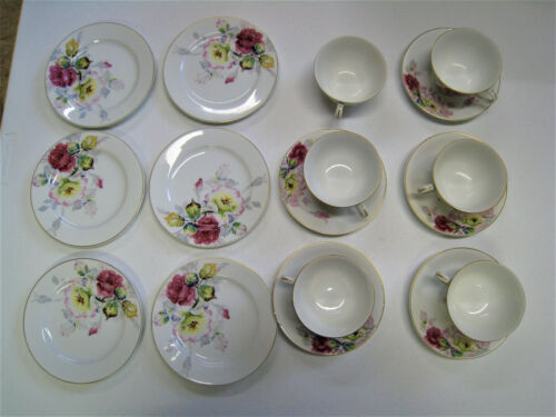 VINTAGE Regina MADE IN OCCUPIED JAPAN Cup Saucer And Small Plate Set