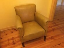 Single Leather Chair Croydon Park Port Adelaide Area Preview