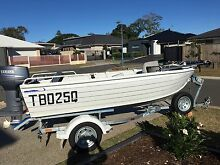 4.1m single hull 1999 aluminium dingy Wellington Point Redland Area Preview