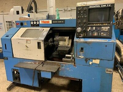 Mazak Qt15 Cnc Turning Center - Offered As Is.