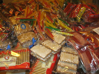 100 St. Süßes Restposten Sonderposten  Bonbons Wurfmaterial Karneval Kamelle
