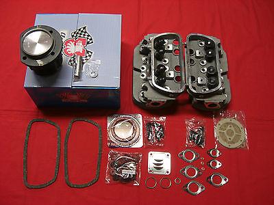 VW Käfer T1 T2 Typ1 1600 ccm Motorüberholsatz Kolben Zylinder Zylinderköpfe -140
