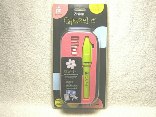 ZISION CHIZZEL IT - SCRAPBOOKING TOOL EMBOSSING ENGRAVING BUFFING - PROVO CRAFT