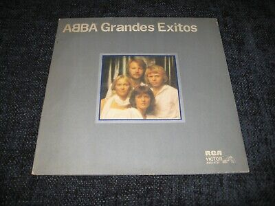 RCA LP ABBA GRANDES EXITOS GATEFOLD SLEEVE 1979 ARGENTINA SOUTH AMERICA VOL 2