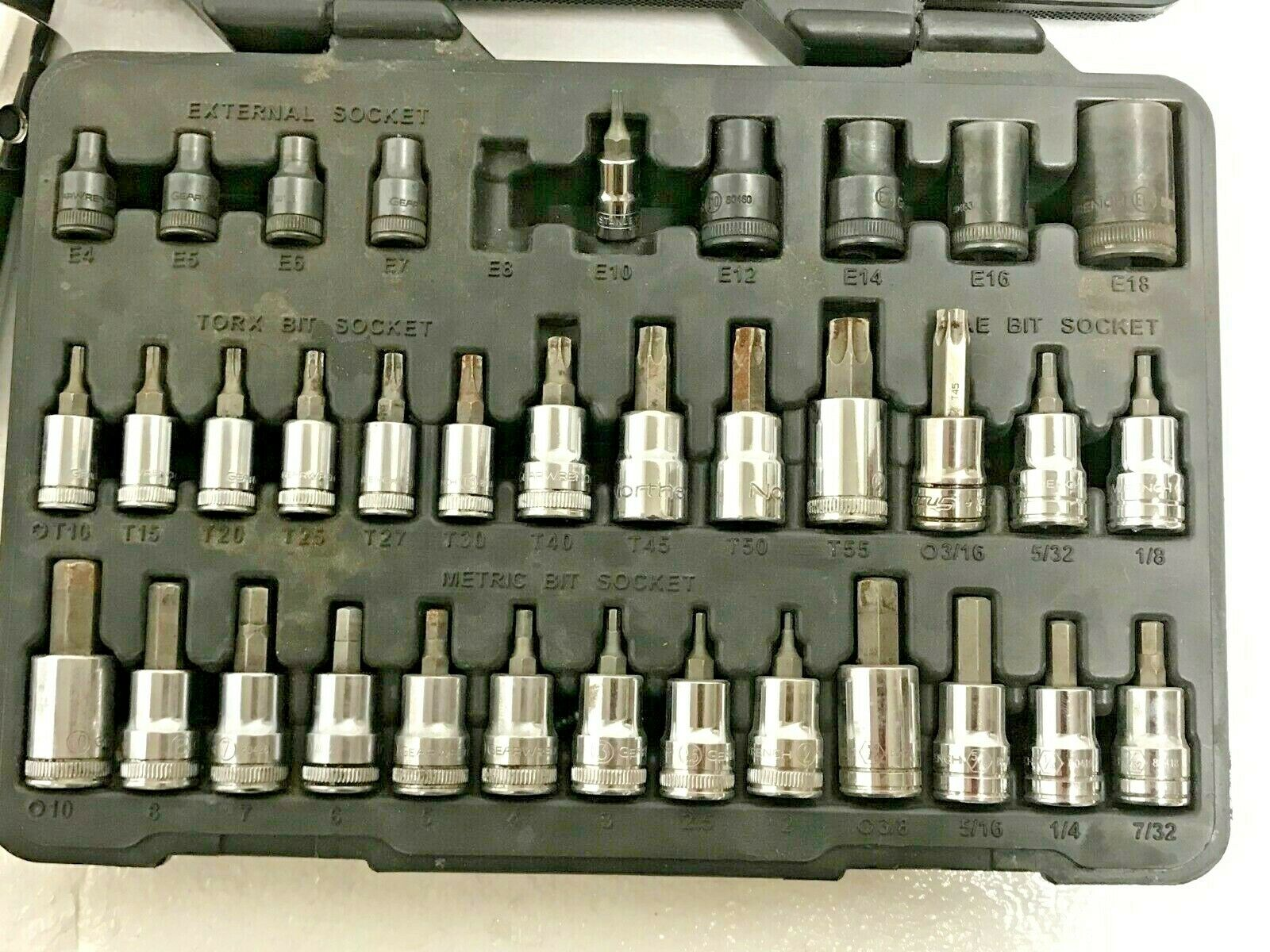 GearWrench 36 pc. Master Torx Bit Socket Set, pre-owned