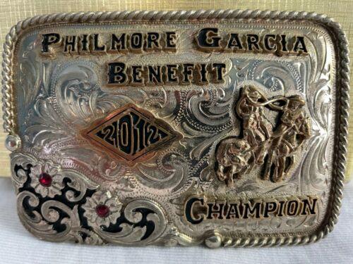2012 Philmore Garcia Benefit Champion Roping Buckle