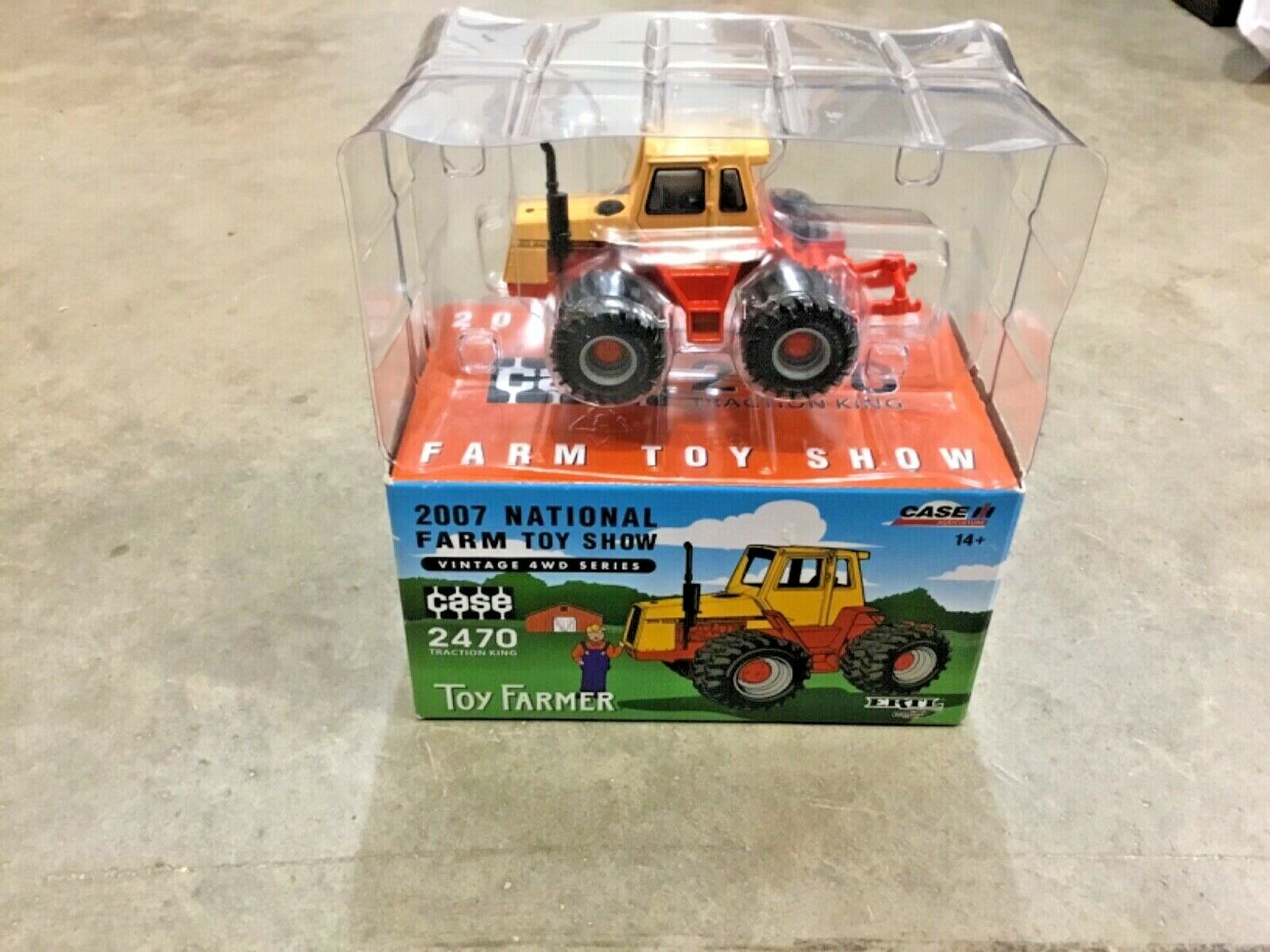 1/64 CASE 2470 National Farm Toy Show 2007! FREE shipping