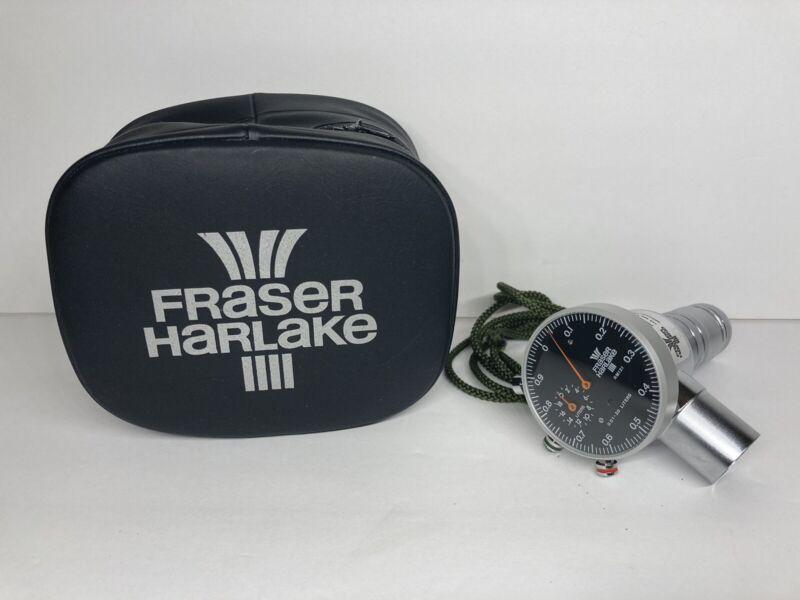 Vintage Fraser Harlake Nitrous Oxide Regulator Flow Meter Gauge RM121 ~Excellent