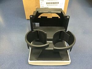 2005-2009 Subaru Legacy & Outback Center Console Rear IVORY Cup Holder OEM NEW !