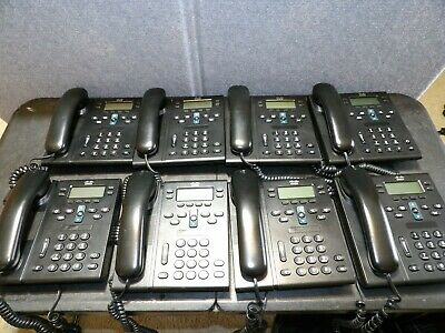 8 Cisco Cp-6941 Business Phones Stands Not Included
