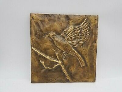 Avian Still Flight Fine Art Bronze Sculpture Wall Hanging (Mayo Arts)