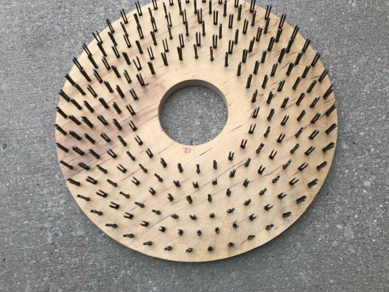 TWENTY ( 20 )  INCH  SCARIFYING BRUSH FOR CONCRETE FLOORS