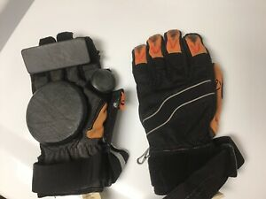 Longboarding gloves, knee and elbow pads