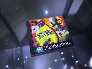 Oddworld Abe's Exoddus PS1 Paradise Campbelltown Area Preview