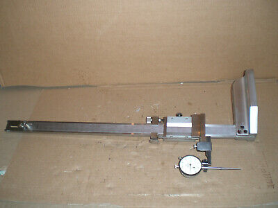 Mitutoyo Vernier Height Gage 18 With Dial Indicator