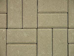 (8,32 Euro/m²) Betonpflaster Pflastersteine, grau 10x20x6