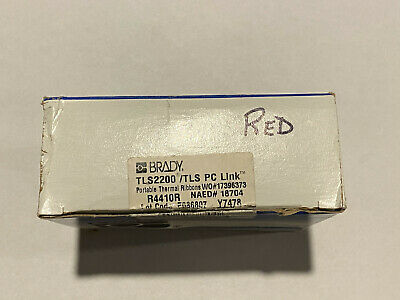 Brady R4410 Red Series Tls2200 Tls Pc Link Printer Ribbon