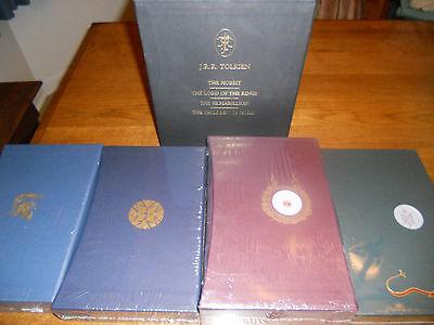 Tolkien Deluxe Edition Collection: Hobbit LOTR Silmarillion Hurin - LTD 500 Sets