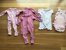 Newborn Girl Bonds Purebaby Clothes Onesie Bundle - size 000 Bicton Melville Area Preview