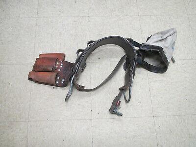 Bashlin 1511n Lineman Pole Climbing Belt Harness Size D-22