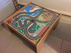 Kids play table with toys and Thomas & Friends books Werrington Penrith Area Preview