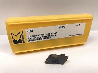 Kennametal Ntk3l New Carbide Inserts Grade Kcu25 5pcs