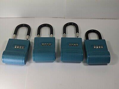 4 Shurlok Key Storage Locks- Lock Box Real Estate For Realtor Or Landlord